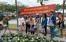 Một buổi sáng, người Hội An 'giải cứu' hơn 7 tấn dưa hấu bí đường sang Trung Quốc
