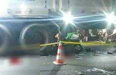 Nghi vấn 2 thanh niên say rượu tông xe máy vào ôtô tải chết thảm trong đêm
