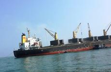 Cách ly 10 thuyền viên tàu Pacific Horse đi từ Hồng Kông về Quảng Bình