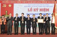 Trao tặng Báo điện tử Đảng Cộng sản Việt Nam Huân chương Lao động hạng Nhì