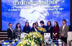 """Sunshine Maple Bear """"bắt tay"""" với Tập đoàn Giáo dục Trí Việt"""