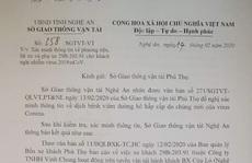 Lấy mẫu xét nghiệm Covid-19 của lái, phụ xe chở khách từ Vĩnh Phúc về Nghệ An