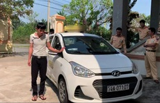 Thanh niên lái xe taxi không có bằng lái còn dương tính với ma túy