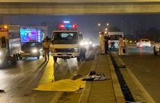 Va chạm mạnh với ôtô 16 chỗ, người đàn ông văng sang làn đường ngược chiều tử vong