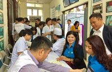 Hà Nội: Vận động CNVC-LĐ hiến máu cứu người