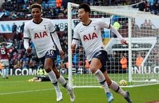 Son Heung-min tỏa sáng, Tottenham ngược dòng ngoạn mục ở Villa Park