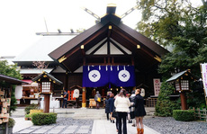 Đền thờ cầu duyên tại Tokyo