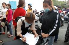 Công nhân Công ty TNHH May thời trang Gia Phú khởi kiện