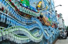 Bãi rác 'hóa' thành không gian sáng tạo nghệ thuật