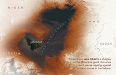Vệ tinh chụp được 'vùng biển ma' chưa từng thấy giữa sa mạc Sahara