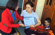 Hỗ trợ gia đình nữ công nhân bị tai nạn giao thông