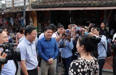 Dạo Hội An, Chủ tịch Quảng Nam nói với khách: 'Quảng Nam - điểm đến an toàn'