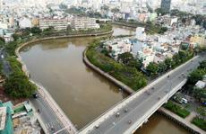 Bắt đầu nạo vét bùn dưới kênh Nhiêu Lộc - Thị Nghè
