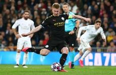 Man City ngược dòng, Real Madrid gục ngã khó tin ở Bernabeu