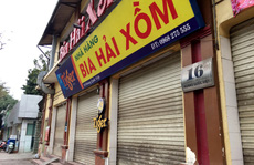 CLIP: Nhiều quán bia lớn ở Hà Nội đóng cửa vì chịu 'cú đúp' dịch Covid-19 và Nghị định 100