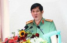 Đại tá Huỳnh Tiến Mạnh, nguyên Giám đốc Công an Đồng Nai  nghỉ hưu sau 'án' kỷ luật