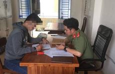 Thanh niên tự nhận 'dính' virus corona bị phạt 12,5 triệu đồng