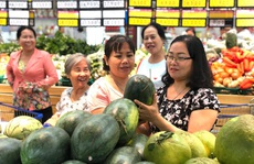 Hàng loạt siêu thị hỗ trợ nhà vườn bán thanh long, dưa hấu từ 4.800 đồng/kg