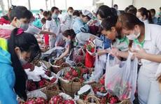 CÔNG TY TNHH NIDEC VIỆT NAM: Công nhân 'giải cứu' 3,5 tấn thanh long cho nông dân
