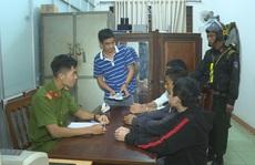Bắt giữ nhóm thanh thiếu niên mang dao đến nhà nghỉ cướp tài sản