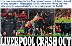 Liverpool bị loại sốc, báo chí Anh tấn công 'tội đồ' Adrian