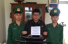 Đà Nẵng: Bắt nam thanh niên buôn bán cả kho 'hàng nóng'