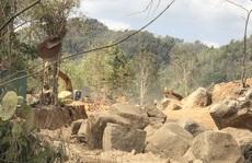 Bà Rịa-Vũng Tàu: Mỏ khai thác khoáng sản hoạt động rầm rộ, bất chấp lệnh dừng