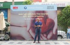Nhân viên Shinhan Finance hiến máu giữa bối cảnh máu khan hiếm tại TP HCM