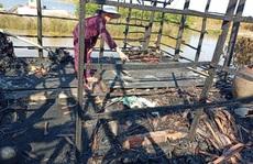 Các con đi vắng, cụ ông 80 tuổi bị tai biến chết cháy trong đêm