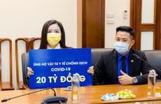 Hoa hậu Mai Phương Thuý trao 20 tỉ đồng ủng hộ phòng chống dịch Covid-19
