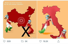 Họa sĩ Ý vạch trần sự thật về bản đồ 'đường lưỡi bò' phi pháp