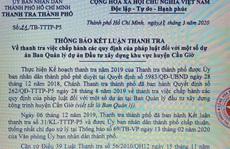 TP HCM: Hàng loạt dự án ở huyện Cần Giờ bị... tuýt còi!