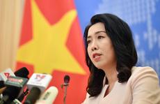 Việt Nam không công nhận cái gọi là 'đường 9 đoạn' của Trung Quốc tại Biển Đông