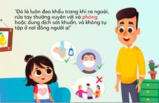 Giúp trẻ học miễn phí qua loạt truyện tranh #MonkeyNotCovy