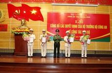 Công an Quảng Bình điều động và bổ nhiệm 7 cán bộ, lãnh đạo chủ chốt