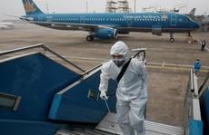 4 chuyến bay quốc tế đến Nội Bài hôm nay là chuyến bay rỗng