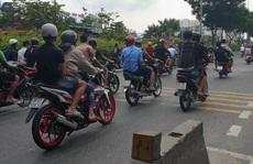 TP HCM: Camera 'tóm gọn' nhiều thanh niên gây khiếp sợ trên Quốc lộ 1