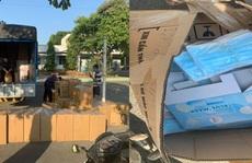 TP HCM: Công an quận 9 lật tẩy bí mật trong chiếc xe tải lén lút xuống hàng