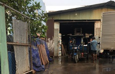 Cửa hẹp cho cơ sở sản xuất trong khu dân cư