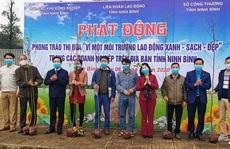 Ninh Bình: Phát động trồng cây xanh vì môi trường