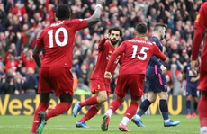 Liverpool chờ lên ngôi vô địch