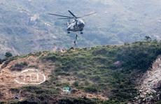 Trực thăng quân sự Trung Quốc rơi tại Hồng Kông
