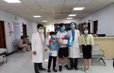 TP HCM: Bé trai 10 tuổi mắc Covid-19 được xuất viện