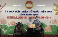 Báo Người Lao Động tặng 25 máy đo thân nhiệt cho tỉnh Bình Định