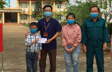 Hai học sinh dùng tiền tổ chức sinh nhật tặng quỹ phòng chống Covid-19