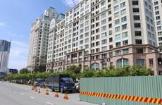 Thi công sửa chữa 'rốn ngập' Nguyễn Hữu Cảnh bị đánh giá rất  chậm
