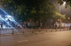 Tá hỏa với bao tải chứa xác người ở đường Phan Văn Trị, quận Gò Vấp