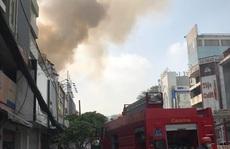 Cháy nhà mặt tiền số 42 Cách  Mạng Tháng 8, quận 3- TP HCM