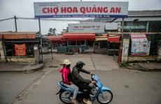 Chợ hoa lớn nhất Hà Nội không một bóng người do liên quan tới ca Covid-19
