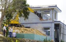 Tháo dỡ biệt thự không phép của Công ty Cáp Treo Vũng Tàu